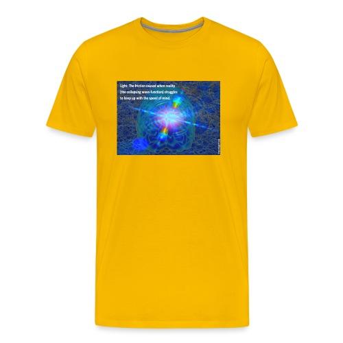 Light QuantumFoamyCoral - Men's Premium T-Shirt