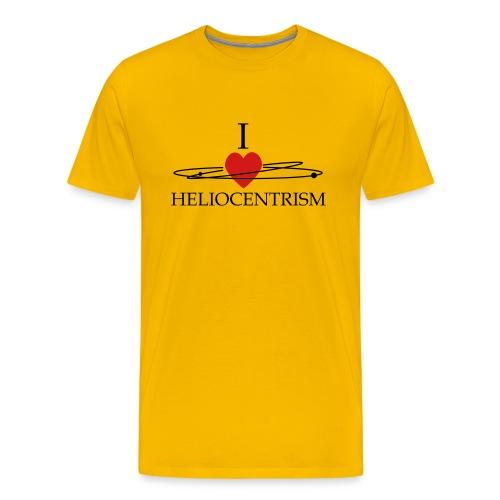 heliocentrism02 - Men's Premium T-Shirt