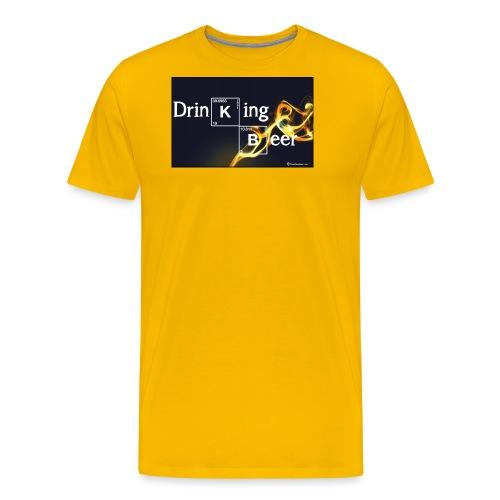 Drinking Beer - Men's Premium T-Shirt