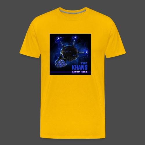 Electric Terror (Blue) - Men's Premium T-Shirt