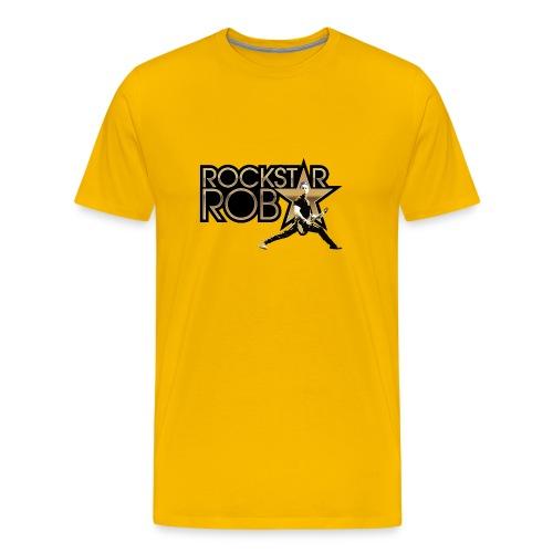 RockstarRob-LogoPlusIllus - Men's Premium T-Shirt