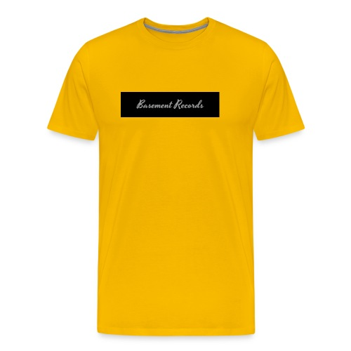 Basement Records - Men's Premium T-Shirt