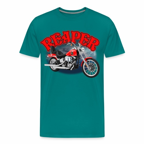 Motorcycle Reaper - Men's Premium T-Shirt