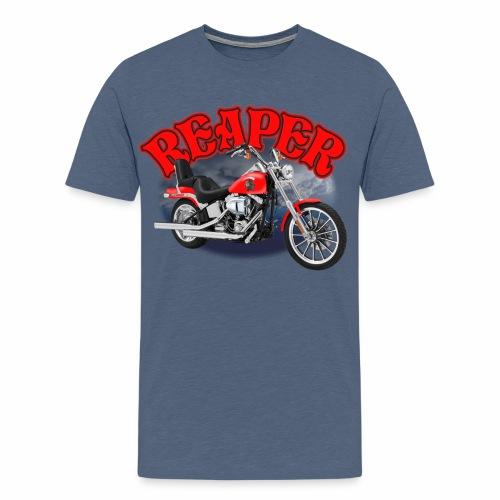Motorcycle Reaper - Men's Premium T-Shirt