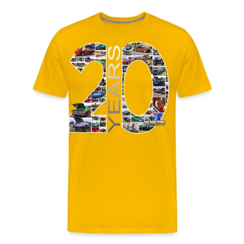 20th ECS Ann. - Men's Premium T-Shirt