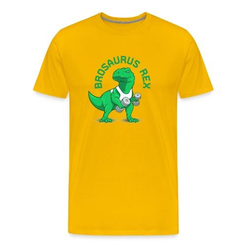 Brosaurus Rex Sweet Ass T-Shirt - Men's Premium T-Shirt