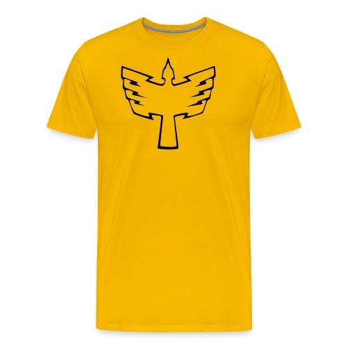 magiyellownofill - Men's Premium T-Shirt