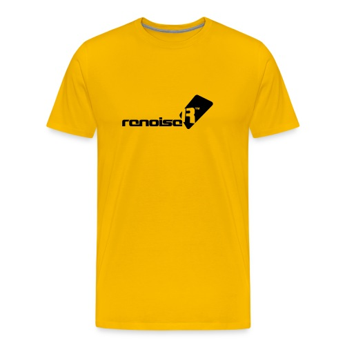 Renoise Logo With Text - Men's Premium T-Shirt
