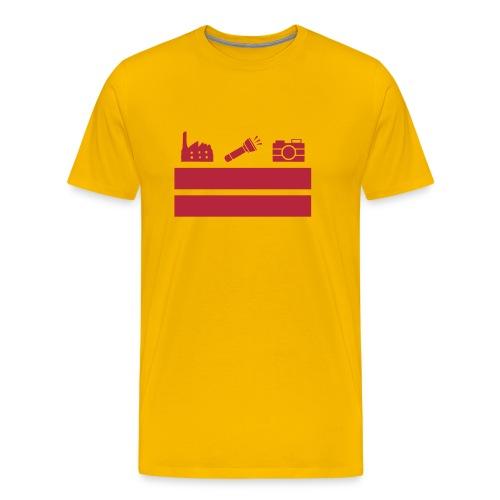 DCUE Flag Large - Men's Premium T-Shirt