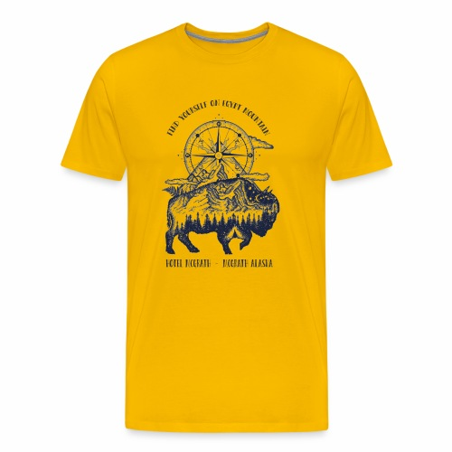 EGYPT MOUNTAIN TSHIRT - Men's Premium T-Shirt
