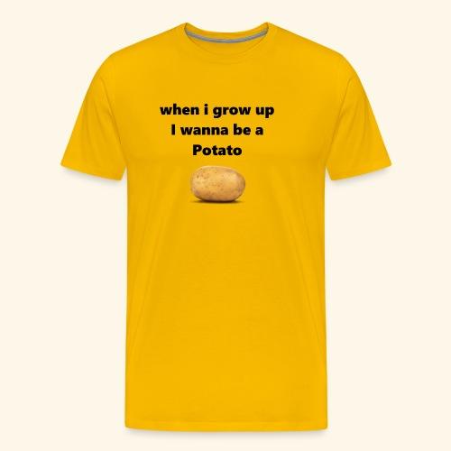 pOtAtO - Men's Premium T-Shirt