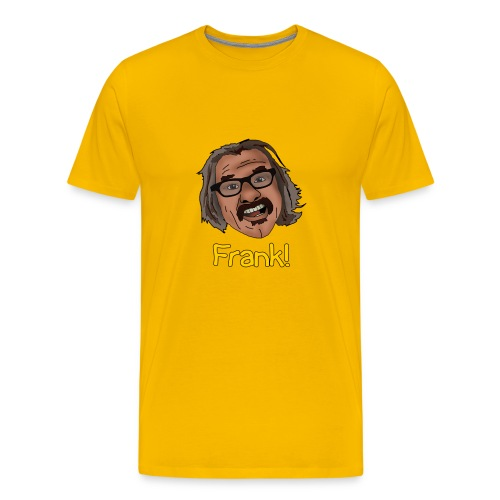 frank shirt yellow png - Men's Premium T-Shirt