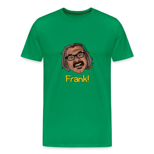 frank shirt yellow png - Men's Premium T-Shirt