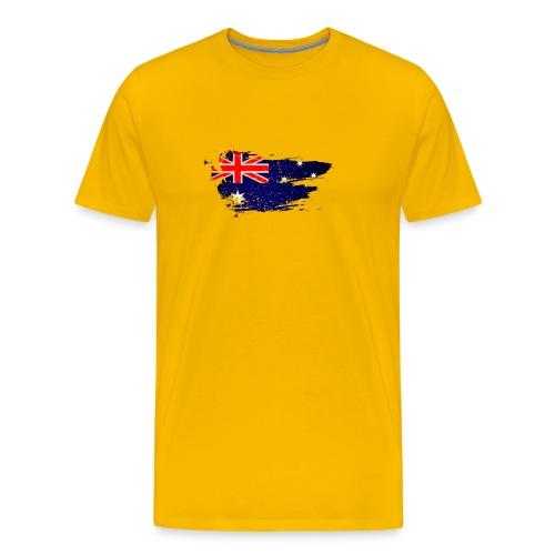 Australian Flag - Men's Premium T-Shirt