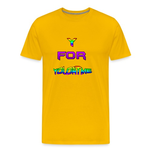 y for yoloatme - Men's Premium T-Shirt
