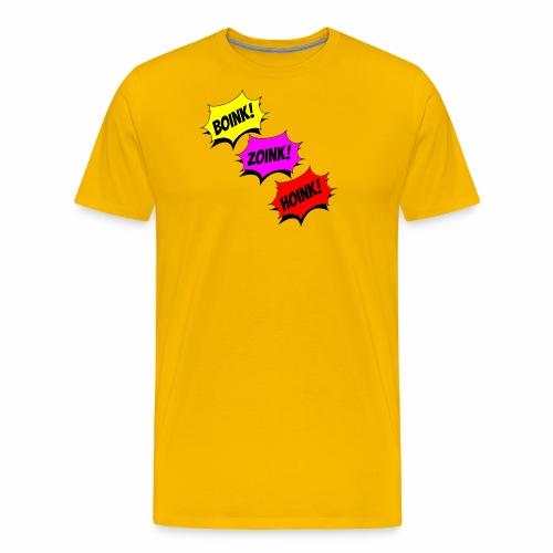 Boink Zoink Hoink - Men's Premium T-Shirt