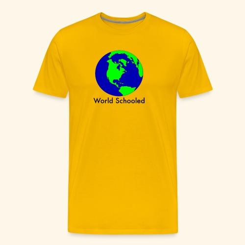 World Schooled - Men's Premium T-Shirt