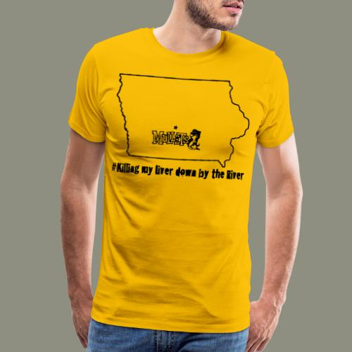 river black - Men's Premium T-Shirt