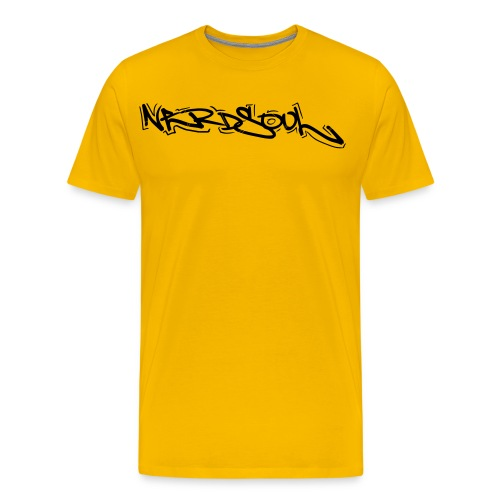 NERDSoul Graf Writer Blck - Men's Premium T-Shirt