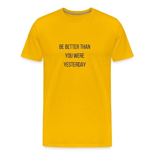 Work Out Apparel - Men's Premium T-Shirt