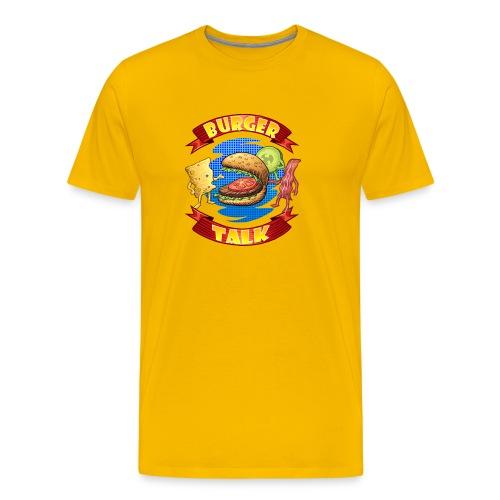 Burger Talk - Computer Resolution - Men's Premium T-Shirt
