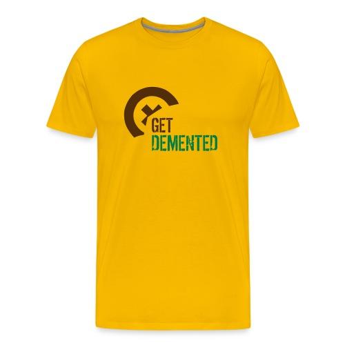 Demented Logo - Men's Premium T-Shirt