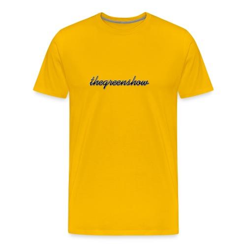 TheGreeShow Logo - Men's Premium T-Shirt