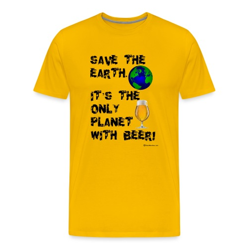 Save The Earth - Men's Premium T-Shirt