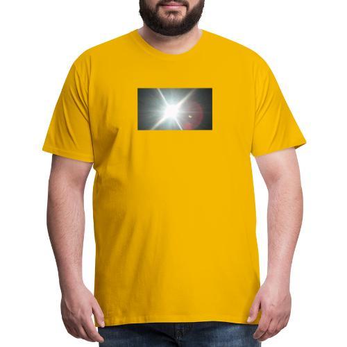 Ecliptic above - Men's Premium T-Shirt
