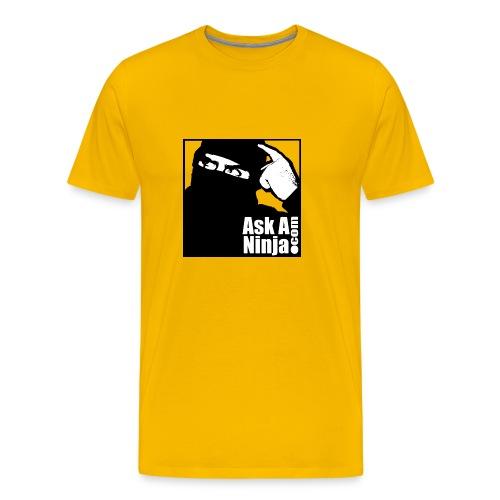 askaninjaoldskooltshirt - Men's Premium T-Shirt