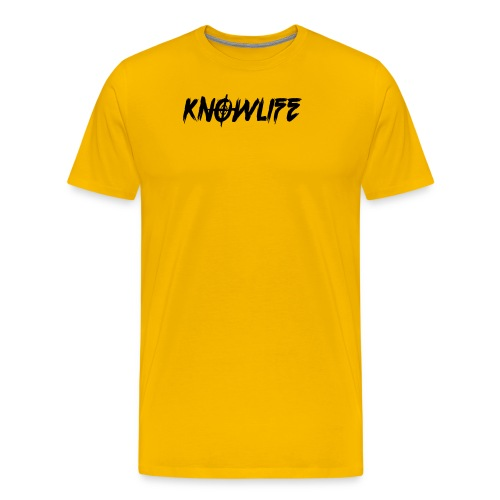 Knowlife Target - Men's Premium T-Shirt