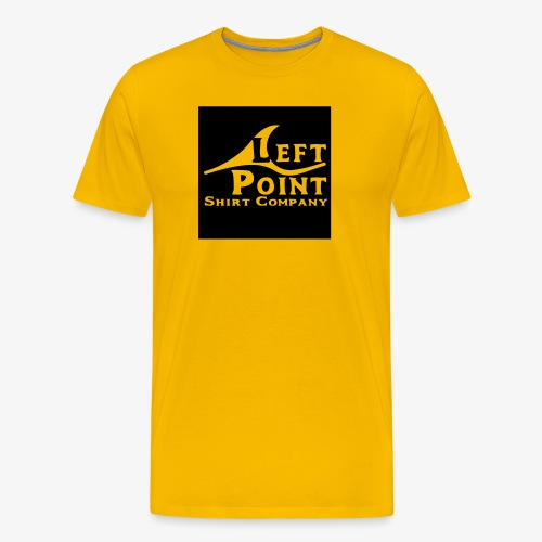 Left Point Logo - Men's Premium T-Shirt