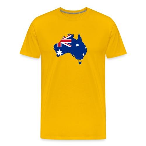 Australia in a nutshell - Men's Premium T-Shirt
