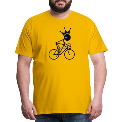 Winky Cycling King - Men's Premium T-Shirt