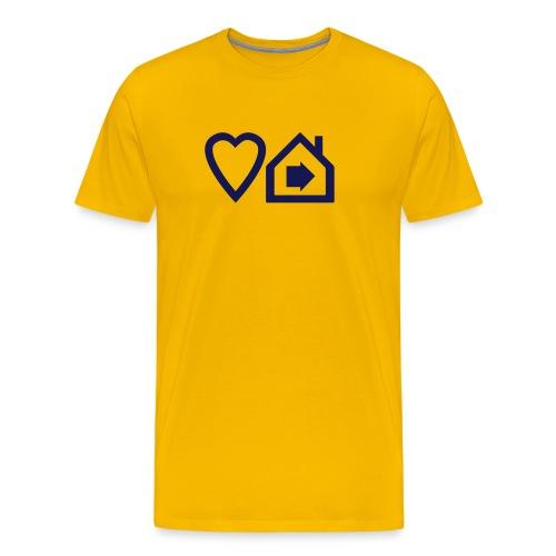 ts-3-love-progressive-house-v2 - Men's Premium T-Shirt