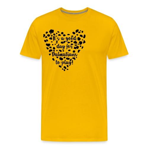 Dalmatians Play - Men's Premium T-Shirt