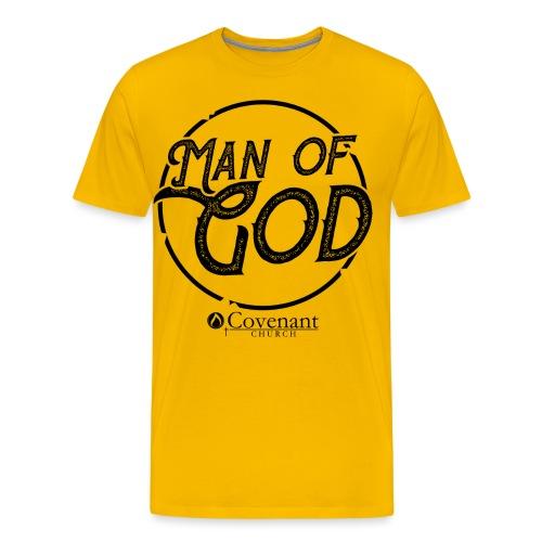 Man Of God LIMITED EDITION - Men's Premium T-Shirt