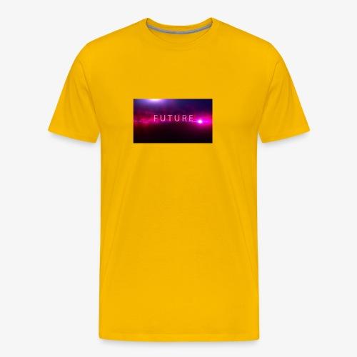 The future begins - Men's Premium T-Shirt