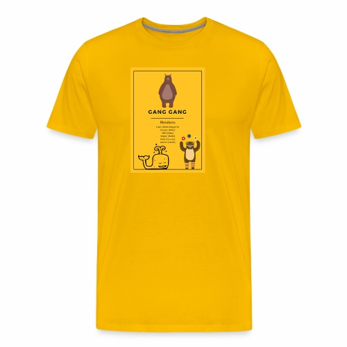 Gang Gang - Men's Premium T-Shirt