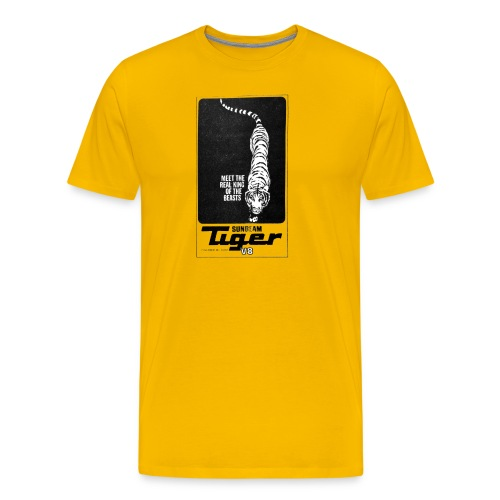 King of the Beasts logo png - Men's Premium T-Shirt