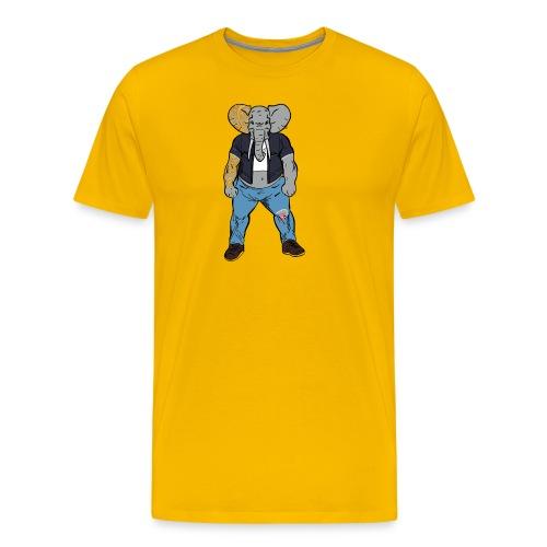 Dumbo Fell in the Wrong Crowd - Men's Premium T-Shirt