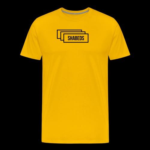 whatamark stacked3 - Men's Premium T-Shirt