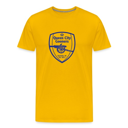 QCG Vector Logo 2015 - Men's Premium T-Shirt