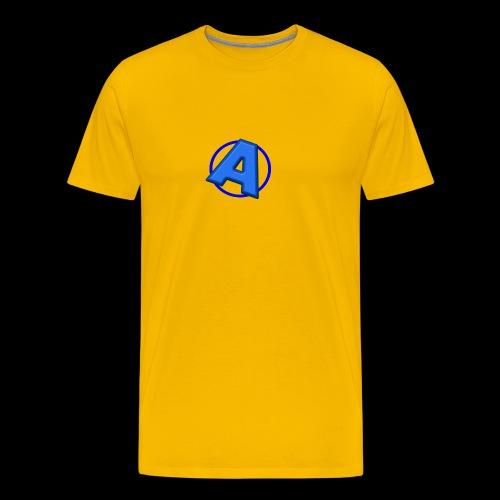 Awesomegamer Logo - Men's Premium T-Shirt