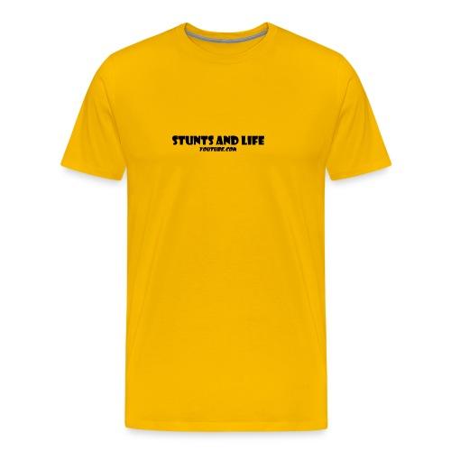 stunts and life - Men's Premium T-Shirt