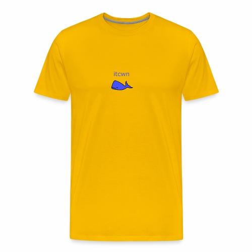 In The Corner With Neil - Men's Premium T-Shirt