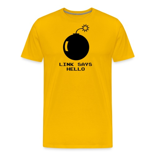 Link Says Hello - Men's Premium T-Shirt