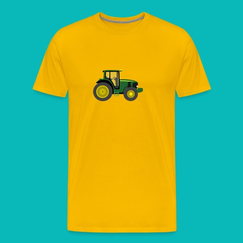 tractor7 png - Men's Premium T-Shirt