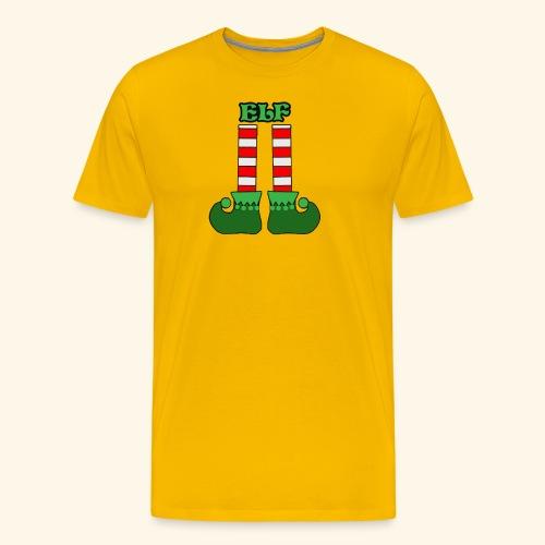 Elf Legs Funny - Men's Premium T-Shirt
