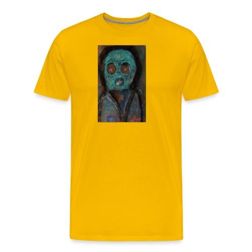 The galactic space monkey - Men's Premium T-Shirt